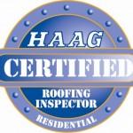 HAGG certified roofing inspectors